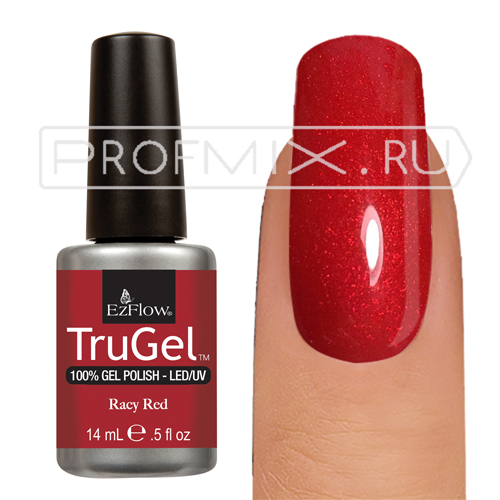 EzFlow TruGel, №037, Racy Red, гель-лак