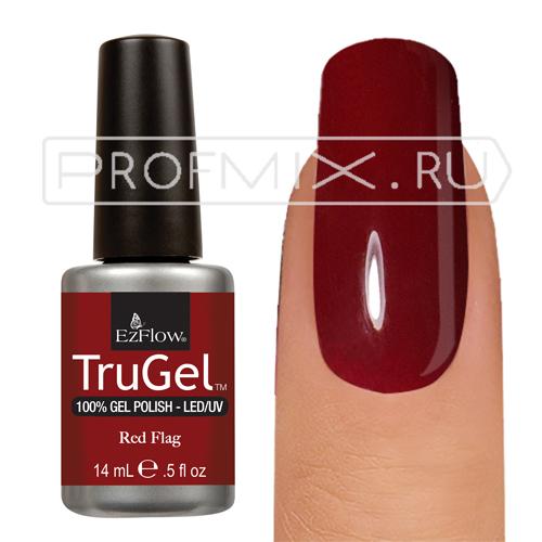EzFlow TruGel, №038, Red Flag, гель-лак