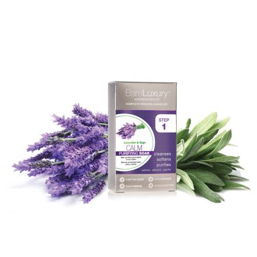 Morgan Taylor, Calming Lavender & Sage 4Pk - успокаивающий SPA-комплекс с лавандой и шалфеем