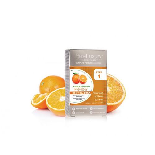 Morgan Taylor, Energy Orange & Lemongrass 4pk - тонизирующий SPA-комплекс с апельсином и экстрактом лемонграсса