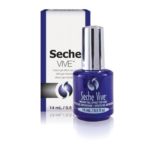 Seche Vive, 14 мл. - верхнее покрытие для лака с гель-эффектом