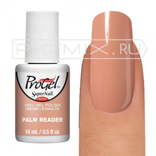 SuperNail ProGel, №080, Palm Reader, гель-лак