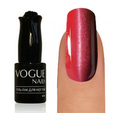 Vogue Nails, Cat Eye Gel Polish, Flaming Ruby, 10 ml