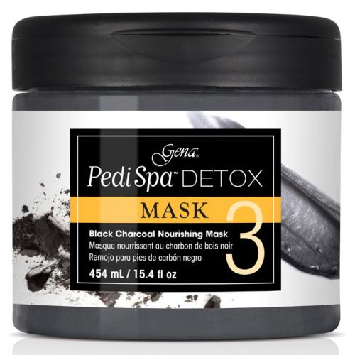 GENA, Pedi Spa Detox Charcoal Mask, 454 мл., детокс - маска с древесным углём, 454 мл.