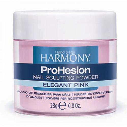 HARMONY ProHesion Elegant Pink Powder, 28 г. - прозрачно-розовая акриловая пудра