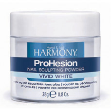 HARMONY ProHesion Vivid White Powder, 28 г. - ярко-белая акриловая пудра