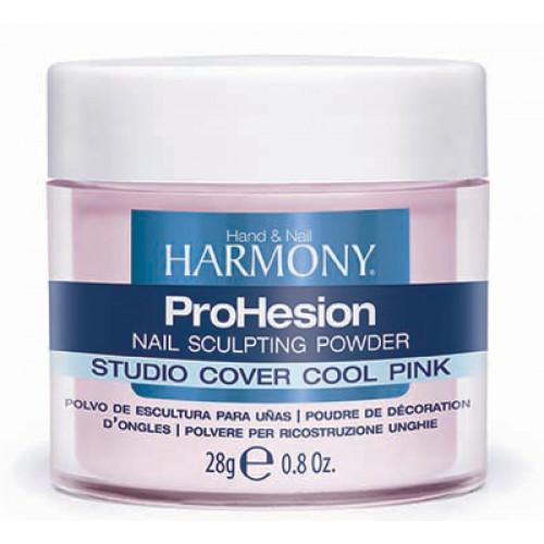 HARMONY, ProHesion Studio Cover Cool Pink Powder, 28 г. - камуфлирующая светло-розовая акриловая пудра