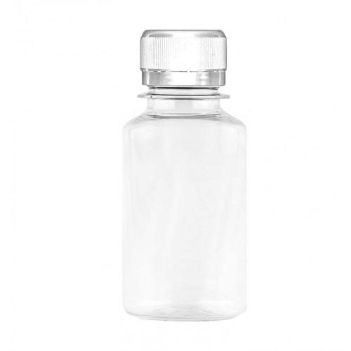 Бутылка ПЭТ прозрачная, 100 мл