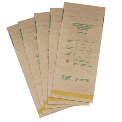 Крафт-пакеты для стерилизации, 100х200 мм