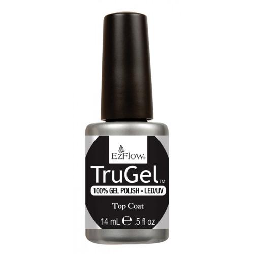 EzFlow TruGel, Top Coat, 14 мл. - верхнее покрытие