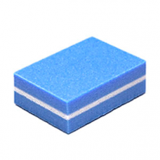 Buff-mini 100/180 grit, pack of 10, blue