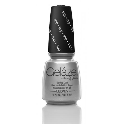 GELAZE, Top Coat, 9.76 мл .- верхнее покрытие