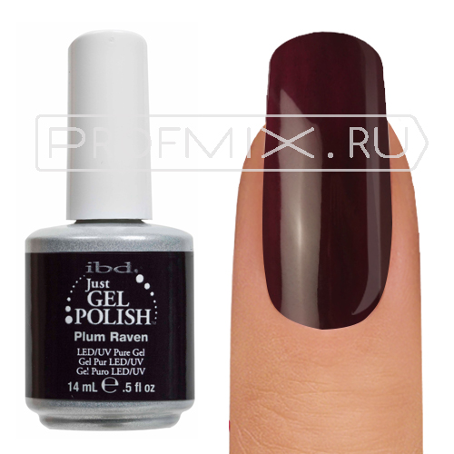 IBD Just Gel Polish, №003, Plum Raven, гель-лак