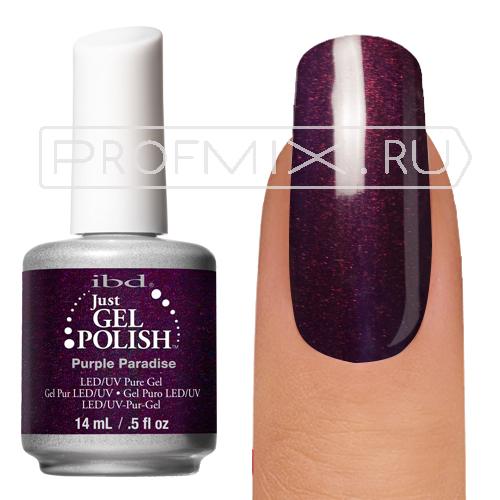 IBD, гель-лак №56678, Purple Paradise, 14 мл.