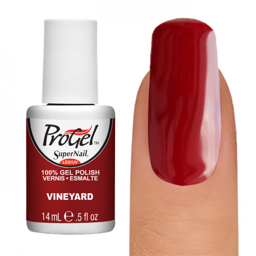 SuperNail ProGel, №032, Vineyard, гель-лак