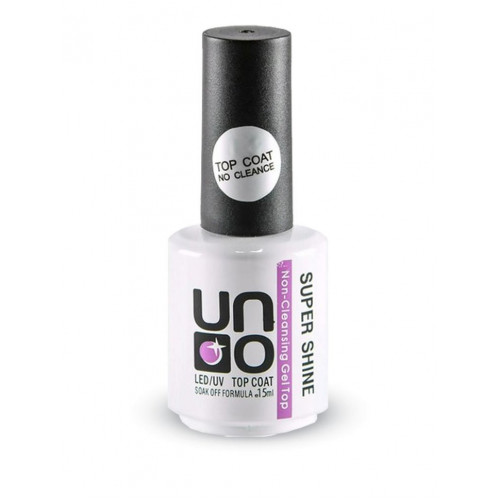 UNO, Топ без липкого слоя Super Shine, 15 мл